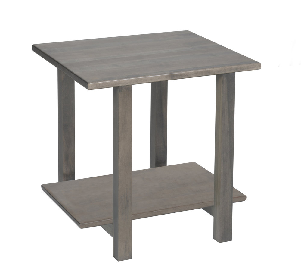 hilton wood end table