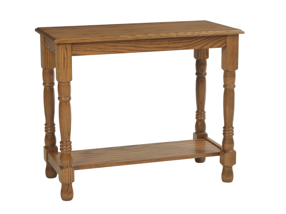 traditional sofa table