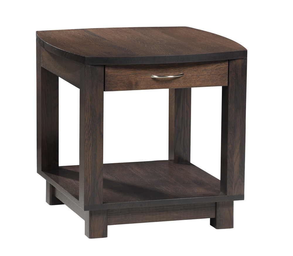 Urban bow end table