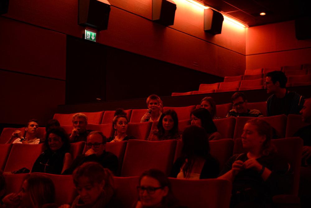 Publikum der Podiumsdiskussion 2015