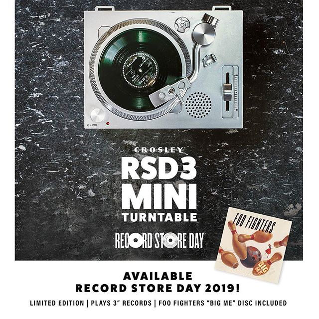 Get ready for the launch🚀  #rsd3 #crosley #crosleyradioeurope #vinyllovers #vinyljunkies #collectable #collecting #3inchrecord