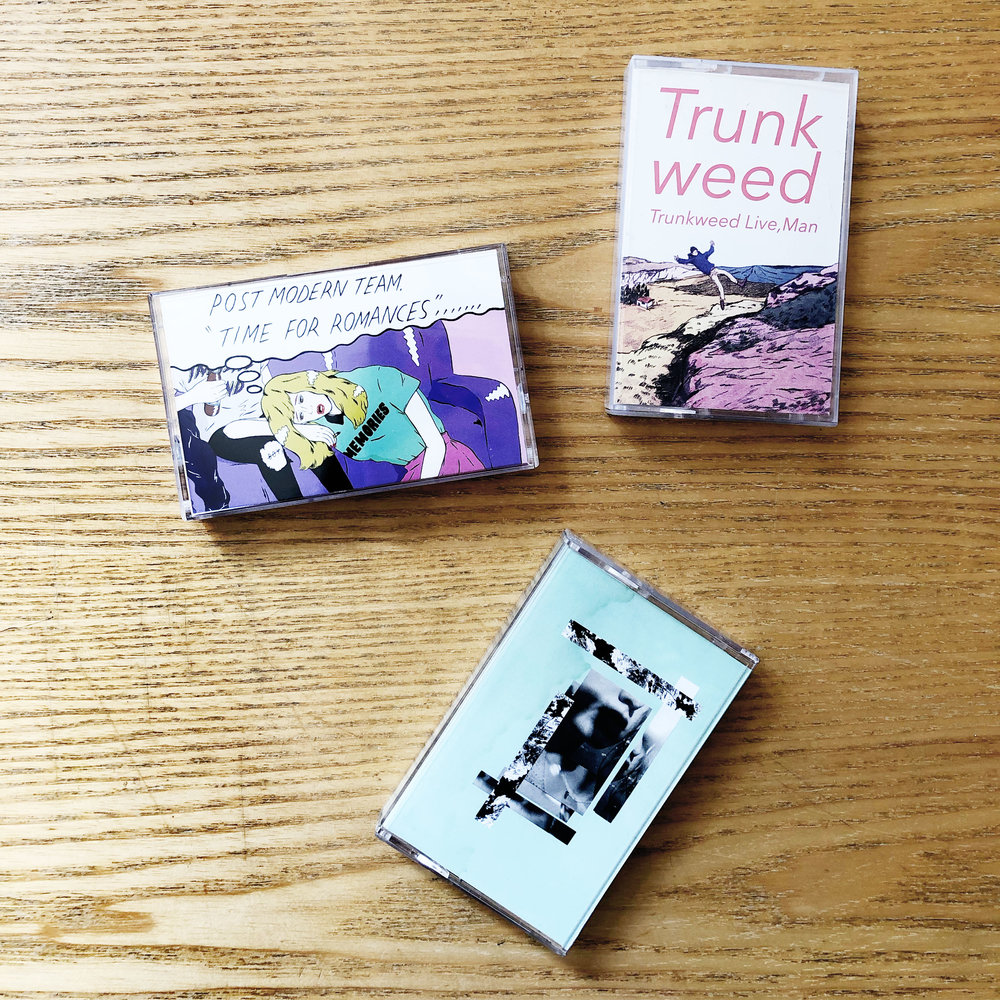Cassettes from Japanese label Miles Apart