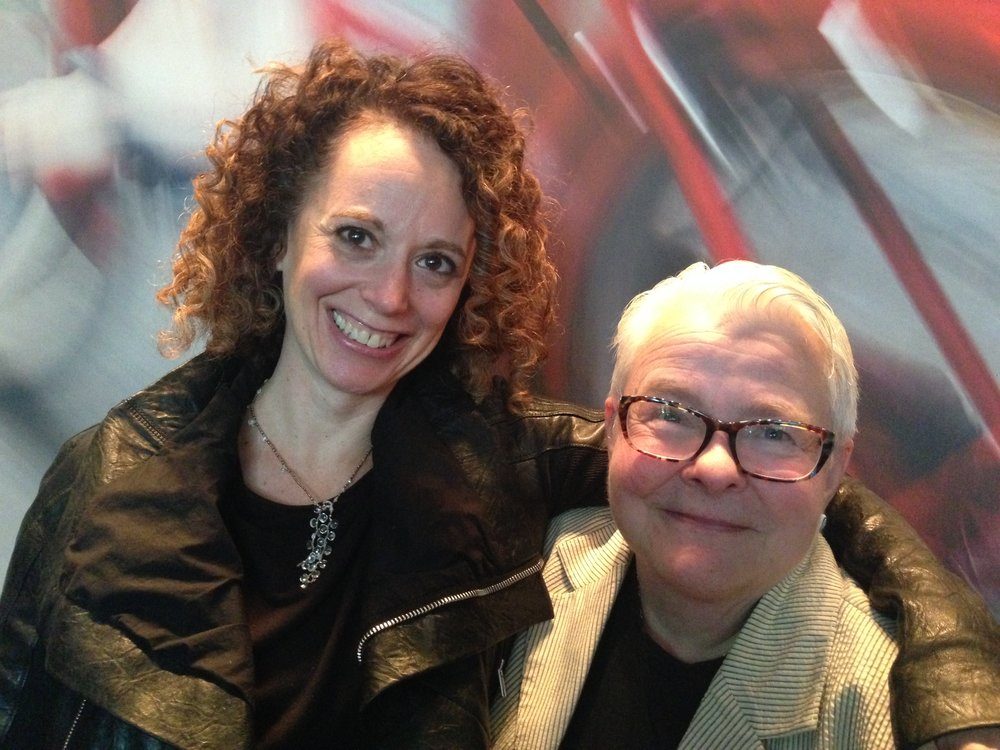 Rebecca Teichman and Paula Vogel