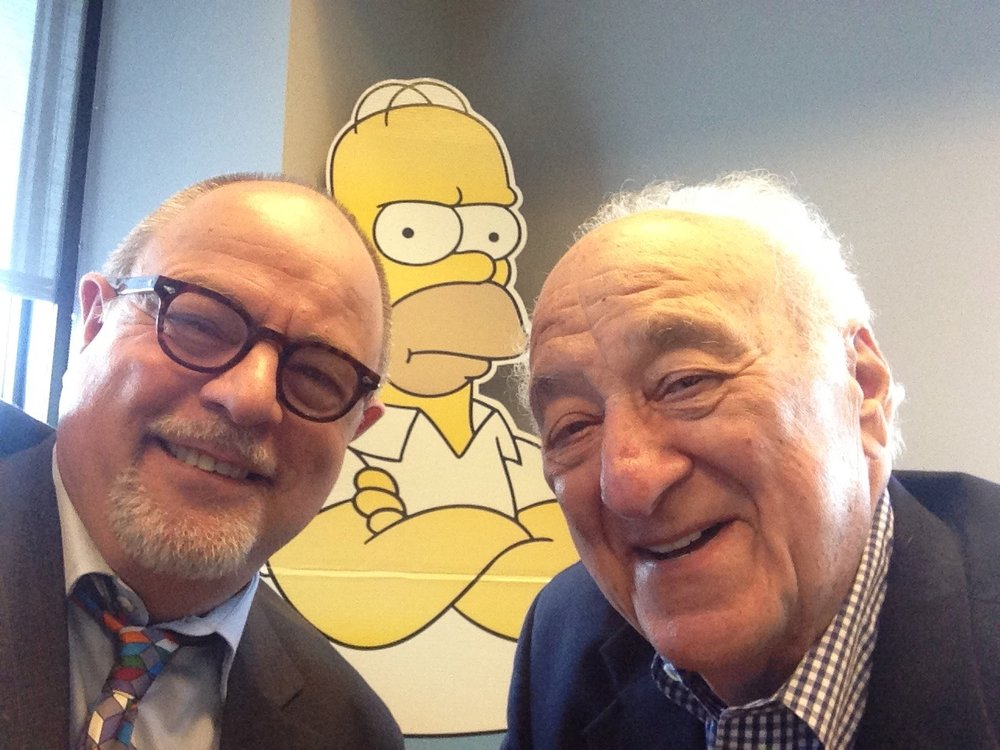 With Jerry Adler