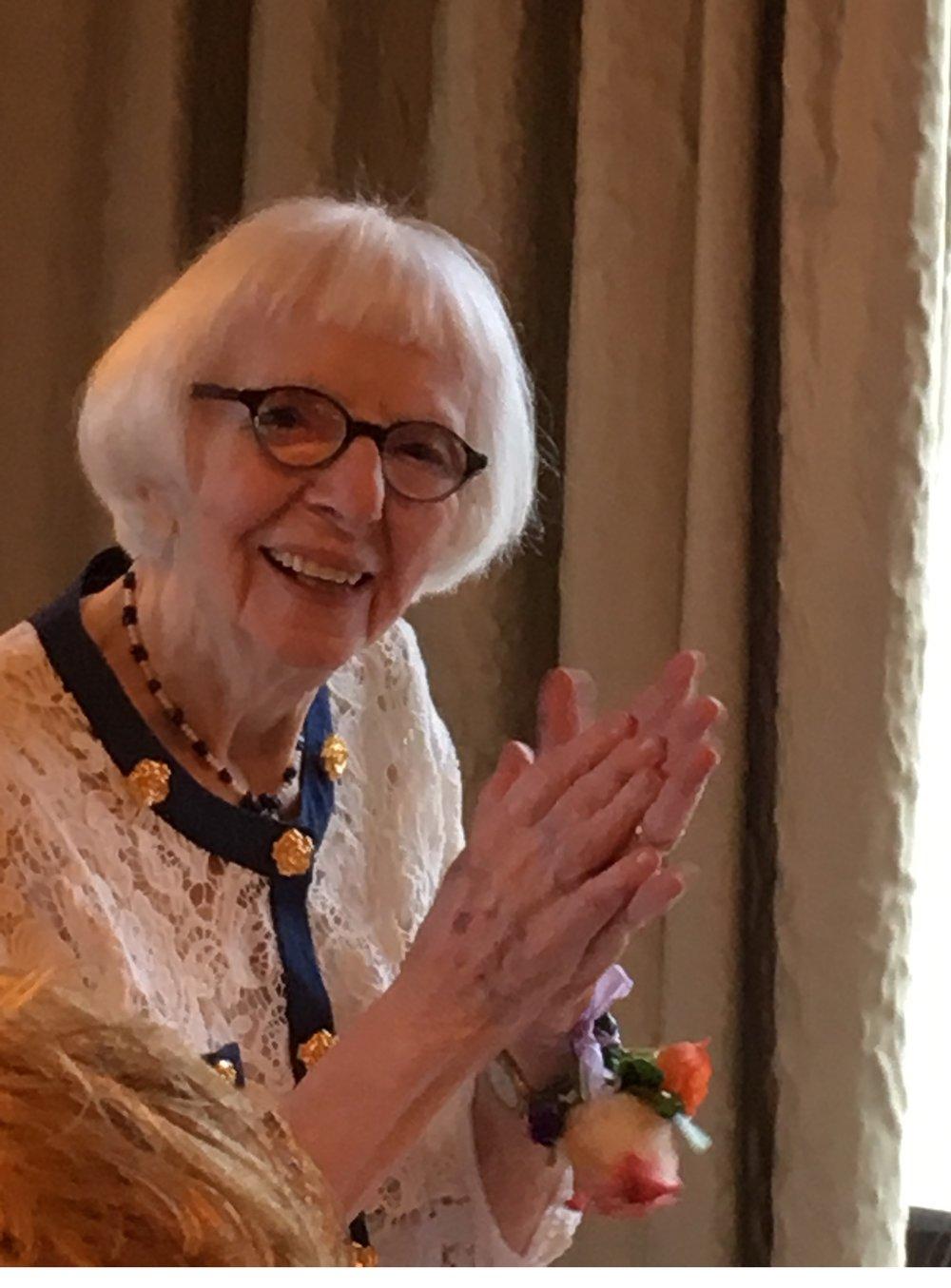 Marjorie Miner on her 100th birthday