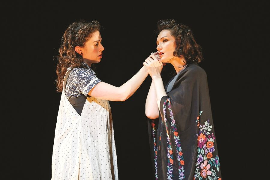 "Katrina Lenk (right) in ""Indecent"""