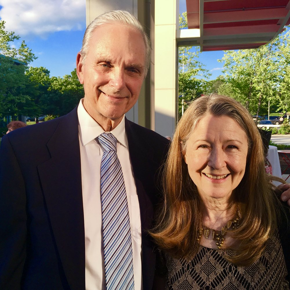 Keir Dullea and Mia Dillon