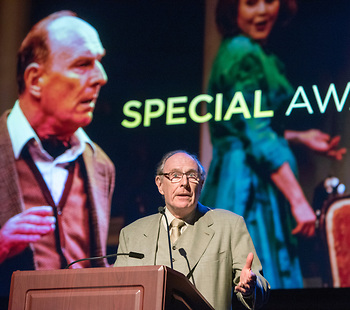 Actor Paxton Whitehead receives special award for lifetime of achievement in the theater.