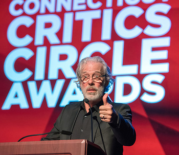 Master of ceremonies Terrence Mann
