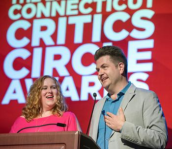 Presenters included broadway.com's Paul Wontorek and Sirius radio's Julie James