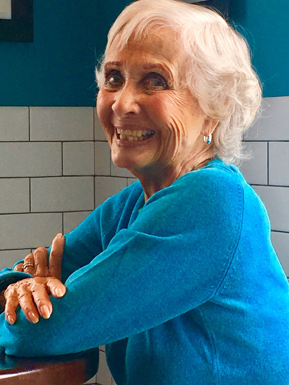 Jane Powell today. Photo by Frank Rizzo.