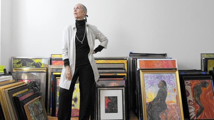 Carmen de Lavallade at her home in New York City. Photos by Michael McAndrews.