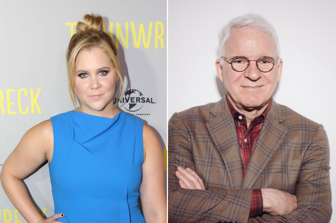 Amy Schumer and Steve Martin