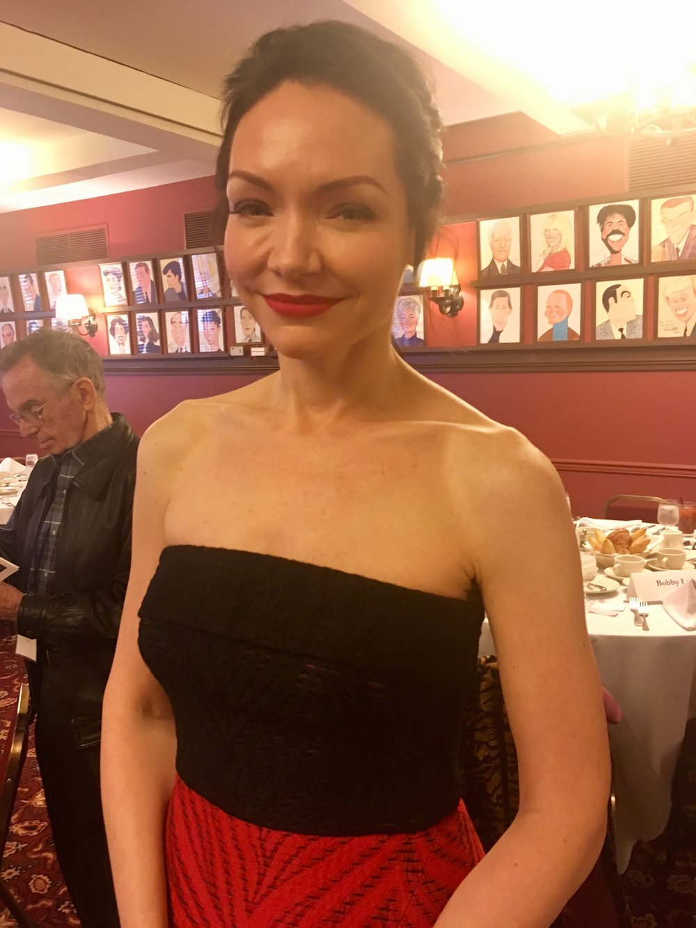 """Katrina Lenk in """"The Band's Visit."""" (She also starred in """"Indecent."""""""