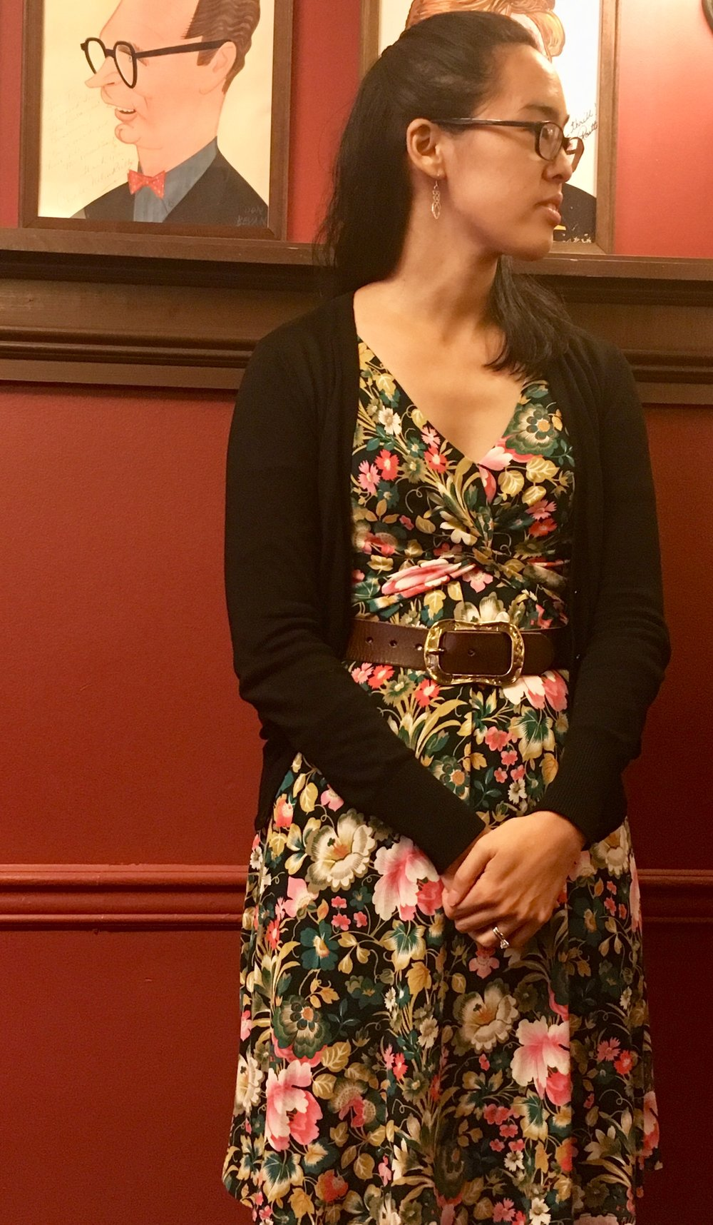 Lauren Yes won the Primus playwriting prize which the association judged and presented.