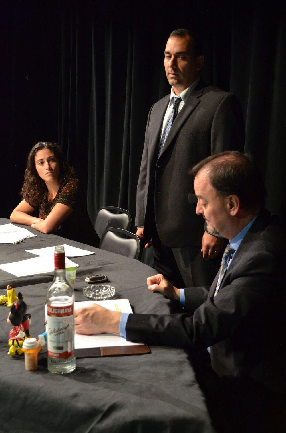 Melissa Smith, Steve Sc arpa and J. Kevin Smith