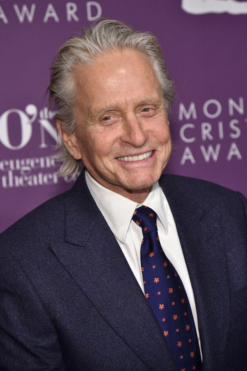 Previous Monte Cristo Award recipient Michael Douglas at the gala