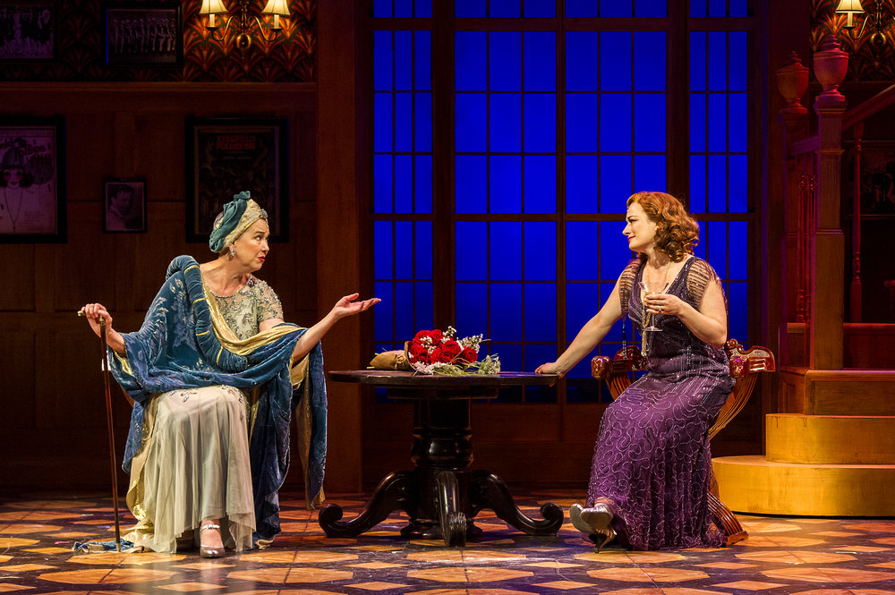 Harriet Harris and Laura Michelle Kelly.
