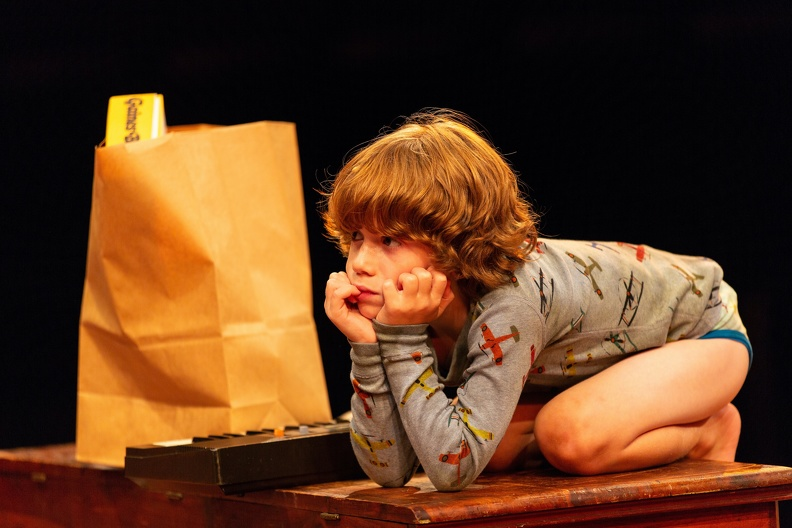 RJ Vercellone as young Carl. All photos are by T. Charles Erickson