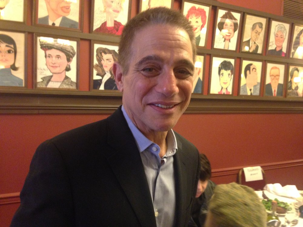 "Tony Danza at Sardi's during Broadway run of ""Honeymoon in Vegas"" Photo by Frank Rizzo"