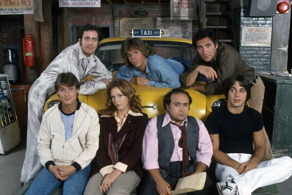 "Cast of TV's ""Taxi"""