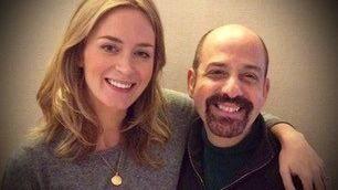Emily Blunt and David Krane