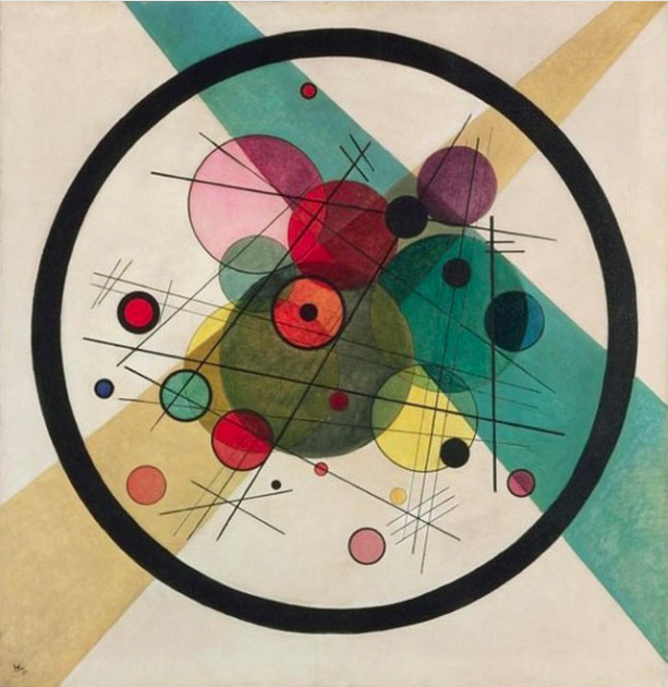 Wassily Kandinsky, Circles in a Circle, 1923