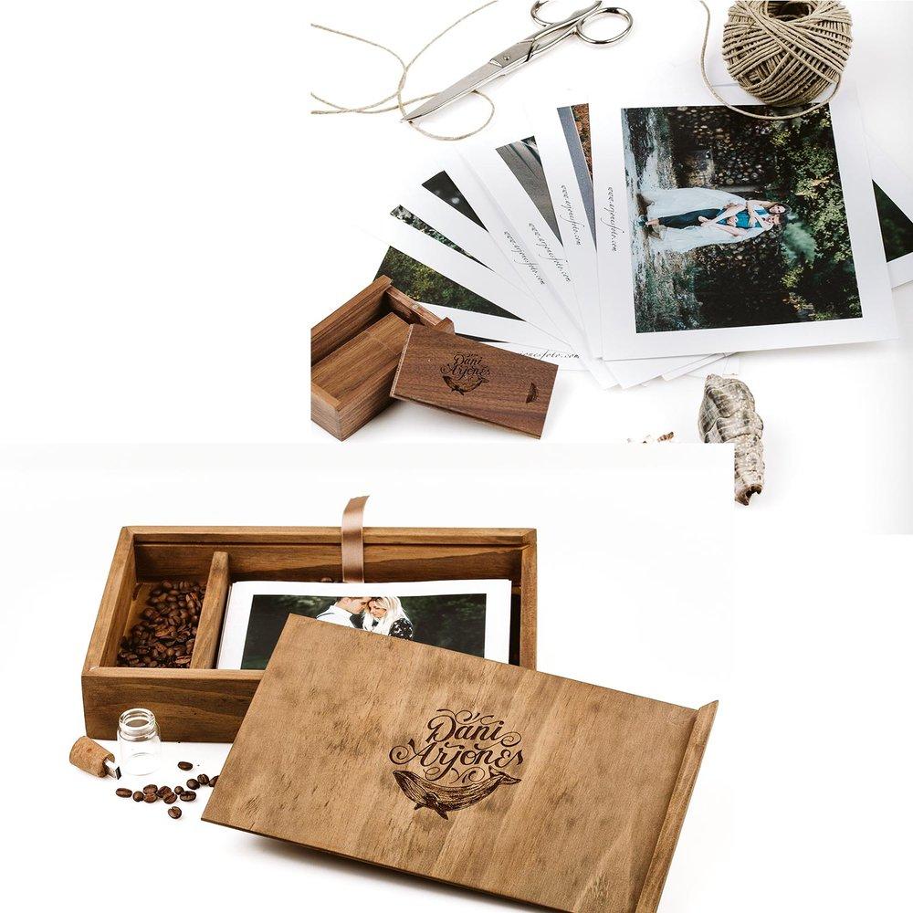 Algunos EXTRAS para que puedas complementar tu paquete: - Videoclip 4-6 Minutos siguiendo el mismo estilo de fotografía.Videoclip + video largo siguiendo el mismo estilo de fotografía.Segundo fotógrafo o videógrafo (profesionales).Caja de madera de pino envejecido con un mínimo de 20 fotografías impresas en calidad profesional.