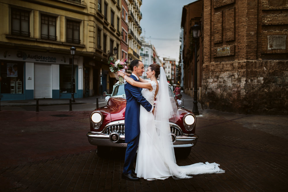 Fieles y honestas a los momentos que han habido en vuestra boda.
