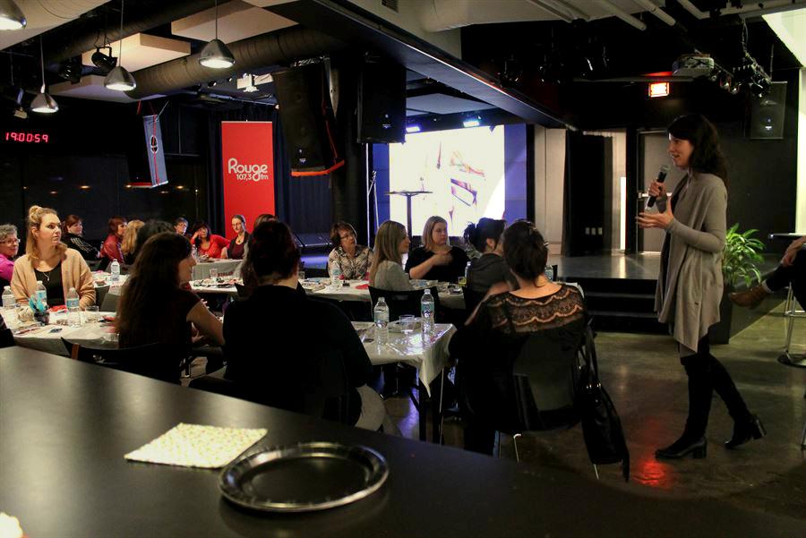 conférence atelier de manon lavoie présentée par rouge fm et deserres
