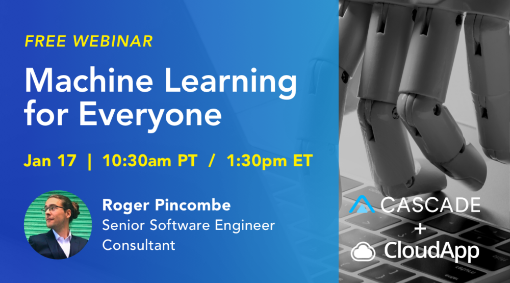machine learning webinar