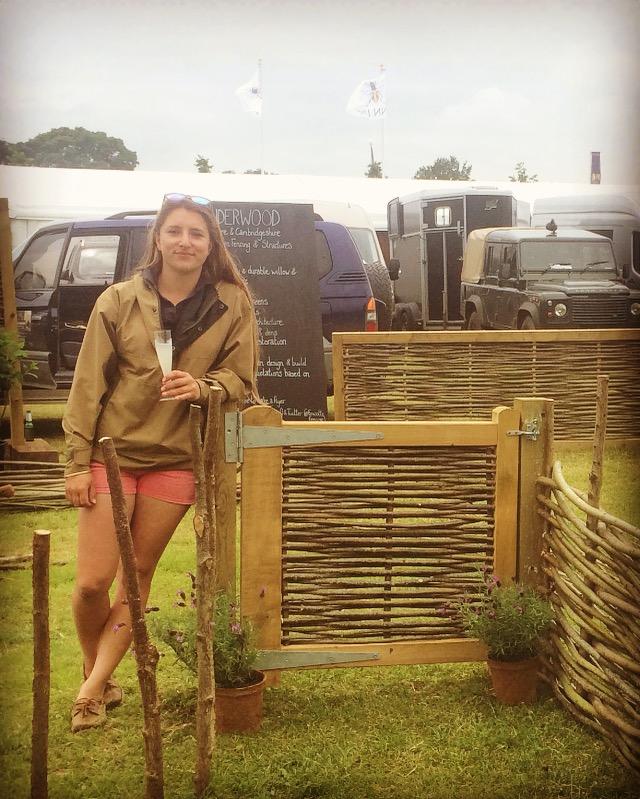 Willow gate at Cornbury Game Fair