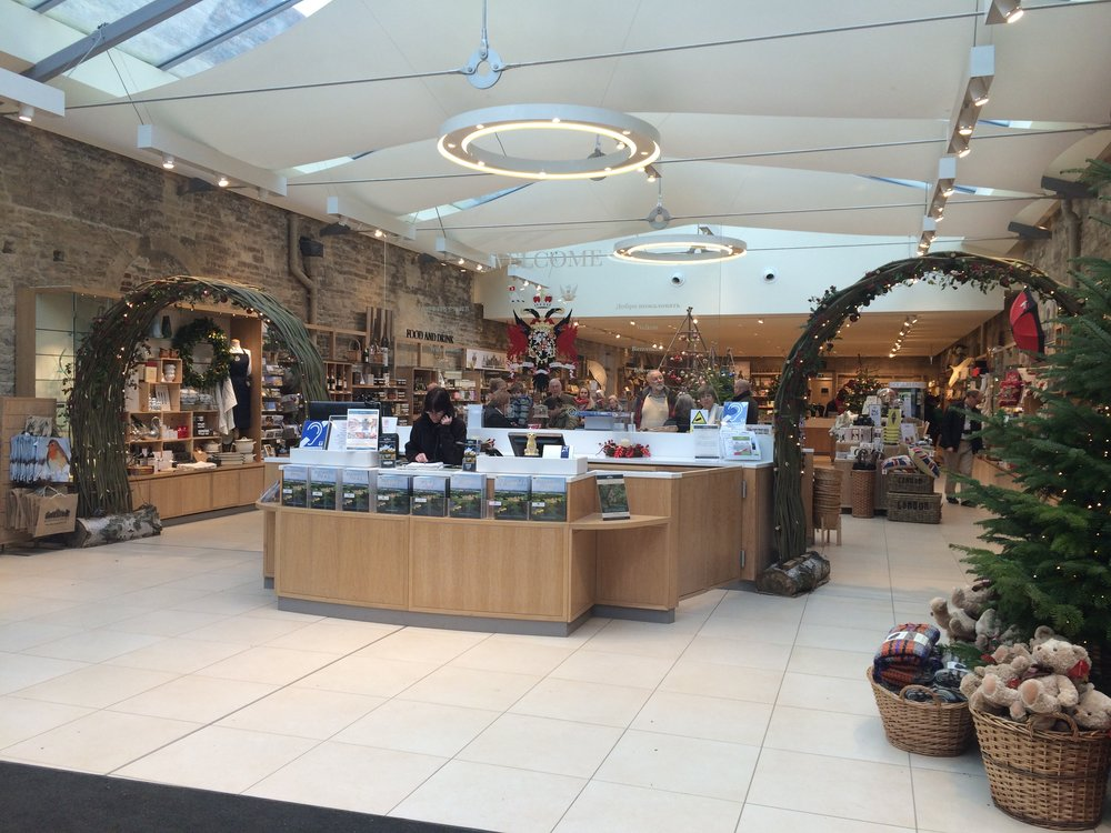 Blenheim Palace Christmas Shop