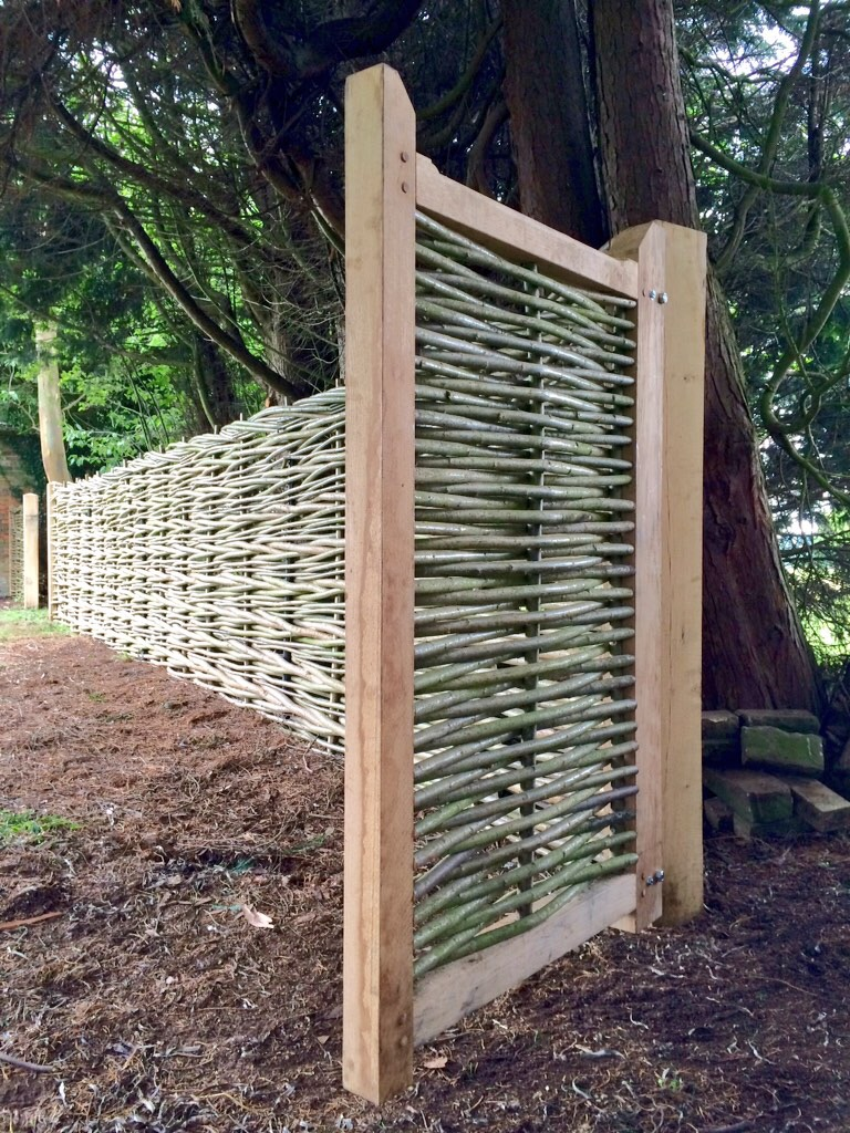 Bespoke willow gate