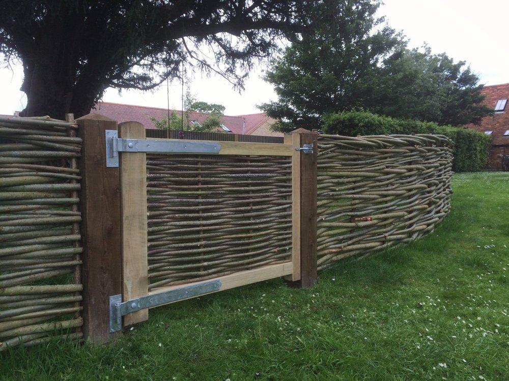 Woven Willow Gates