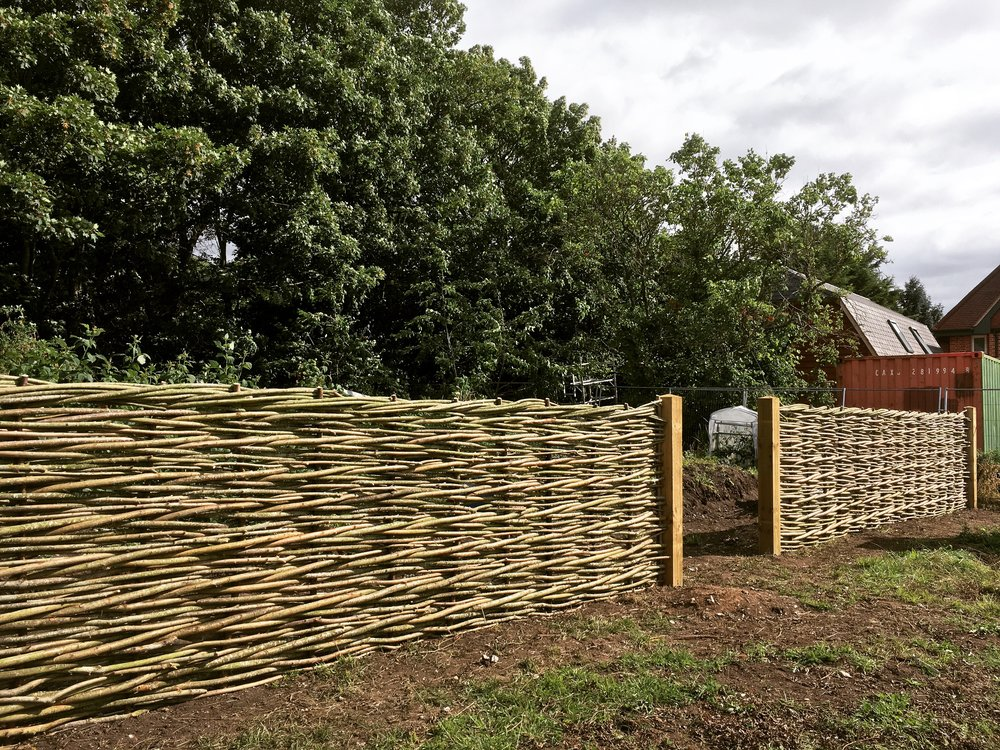 Natural fencing