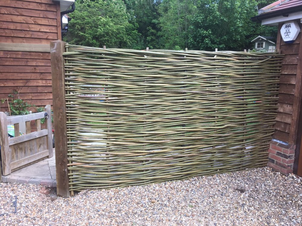 Willow screens