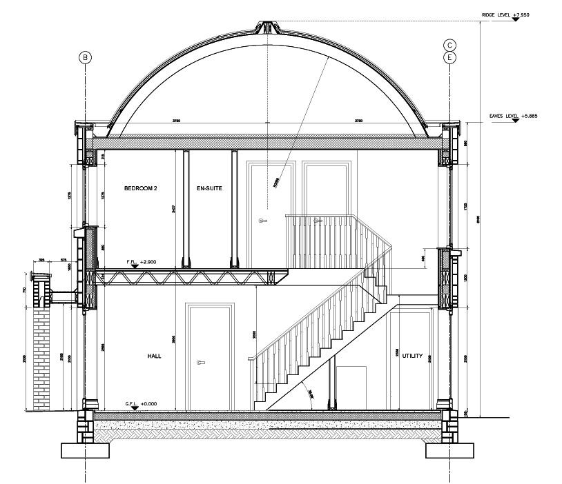 Ballyboghil Construction Detail