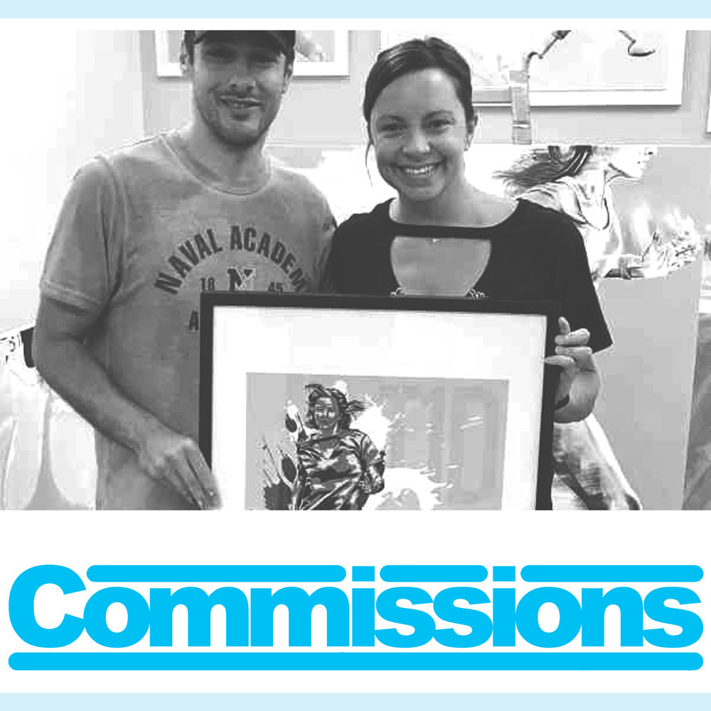 For Commissioned Art Works Click Here