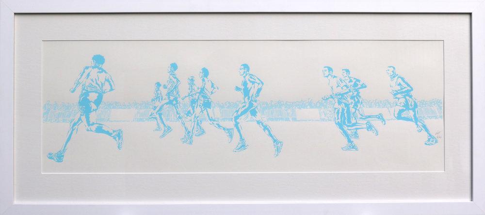 Running Blue