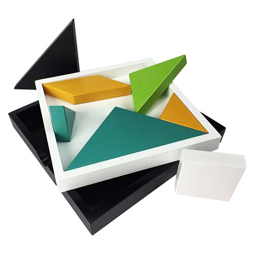 Tangram Set Item #: JT001 UPC #: 856261005281 Case Pack of 6