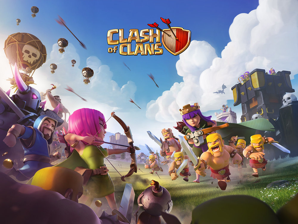Figure 1 - Clash of Clans, Supercell. Credits: Supercell