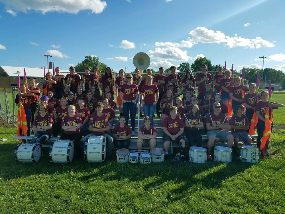 Marching Storm Group Photo