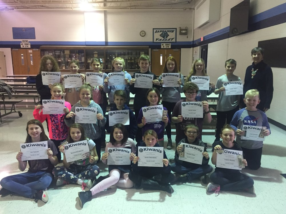 Back Row: Claire T., Delaney T., Jessie R., Rylan E., Hunter M., Delani I., Hannah M., Andrew W., Ms. Doris Mabry  Center Row: Ainsley C., Ella S., Caiden D., Jill W., Colton S., Luke K.  Front Row: Lily K., Hannah D., Eve S., Alexis A., Damion S., Cerryn M.  Not Pictured: Rowan B. and Allison C.