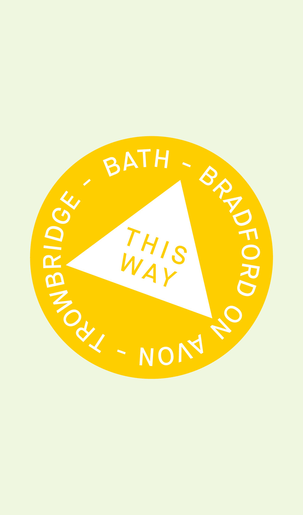 Bath to Trowbridge Map