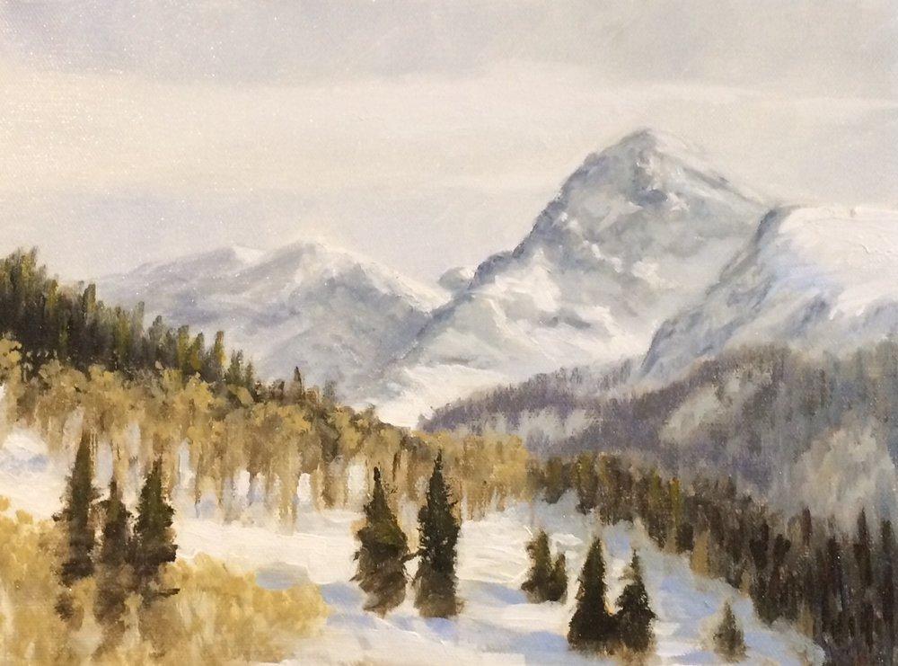 Acrylic on Canvas  12x9