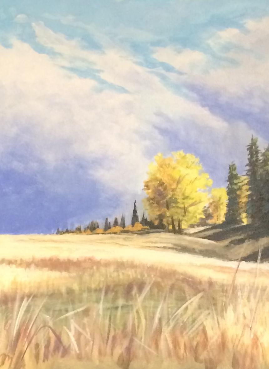 Acrylic on Canvas  9x12