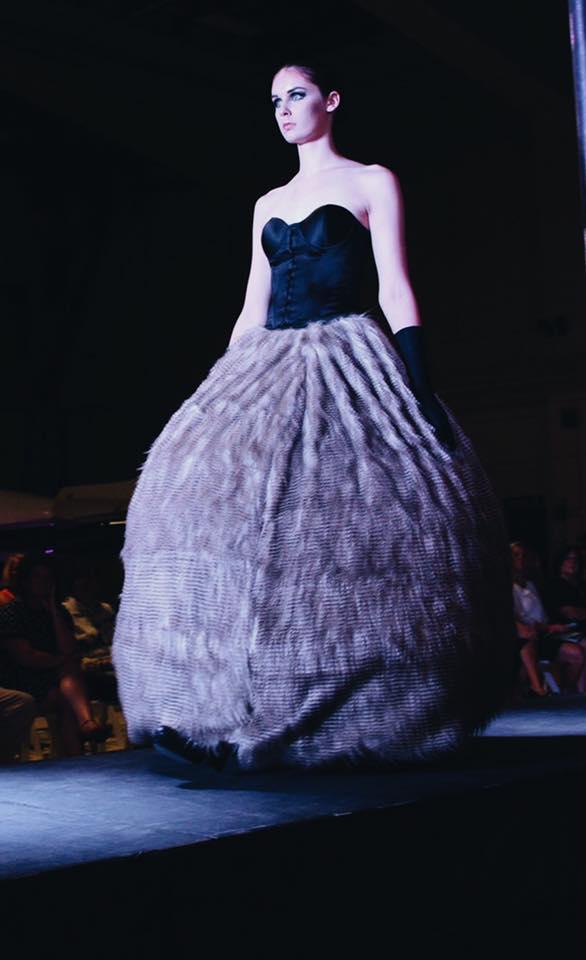 Designer: Londa Msanii / Model: Erin Dougherty