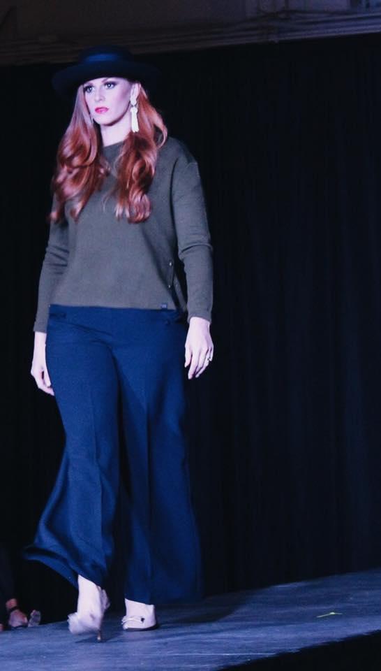 Designer: Half + Half / Model: Jessica Lahr