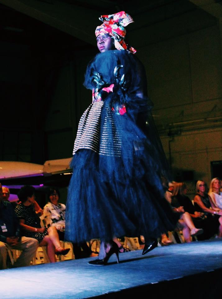 Designer: Londa Msanii / Model: Grace Modi